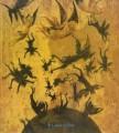 IL GOTICO A SIENA. Miniature pitture oreficerie oggetti d'arte. Mosta Siena 1982