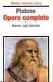 Opere complete Minosse , Leggi , Epinomide