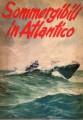 Sommergibili in Atlantico  copertina e disegni di Attilio Giuliani