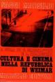 Cultura e cinema nella repubblica di Weimar