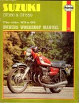 Suzuki GT380 e GT550 371cc  544cc 1972 to 1975 owners workshop manual