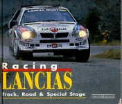 Racing Lancias track road special stage