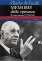 MEMORIE DELLA SPERANZA. Il rinnovamento (1958-1962)