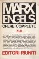 OPERE COMPLETE. VOLUME XLIII: LETTERE (gennaio 1868 - luglio 1870)