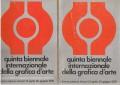 QUINTA BIENNALE INTERNAZIONALE DELLA GRAFICA D'ARTE. La grafica delle avanguardie storiche del '900. Firenze 1976