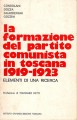 LA FORMAZIONE DEL PARTITO COMUNISTA IN TOSCANA 1919-1923. Elemementi di una ricerca